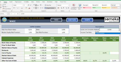 Discounted-Cash-Flow-Excel-Template-Someka-SS2