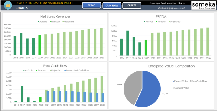 Discounted-Cash-Flow-Excel-Template-Someka-SS5