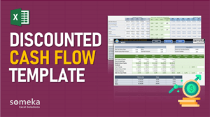 Discounted Cash Flow Template - Someka Excel Template Video
