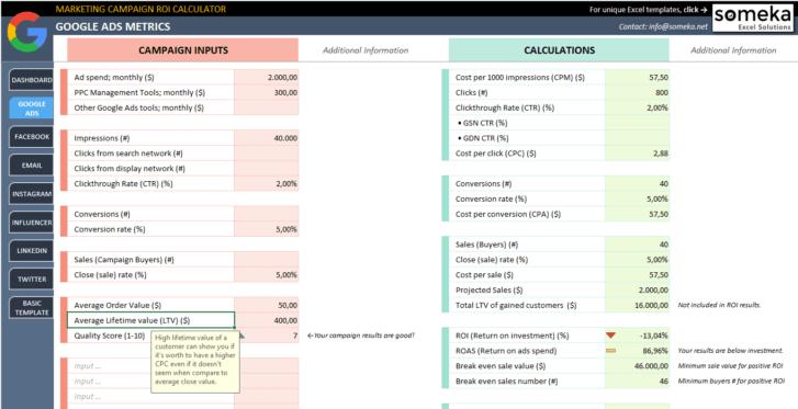 Marketing-Campaign-ROI-Calculator-Someka-SS3