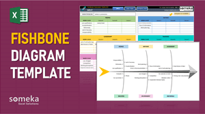 Fishbone Diagram Template - Someka Excel Template Video