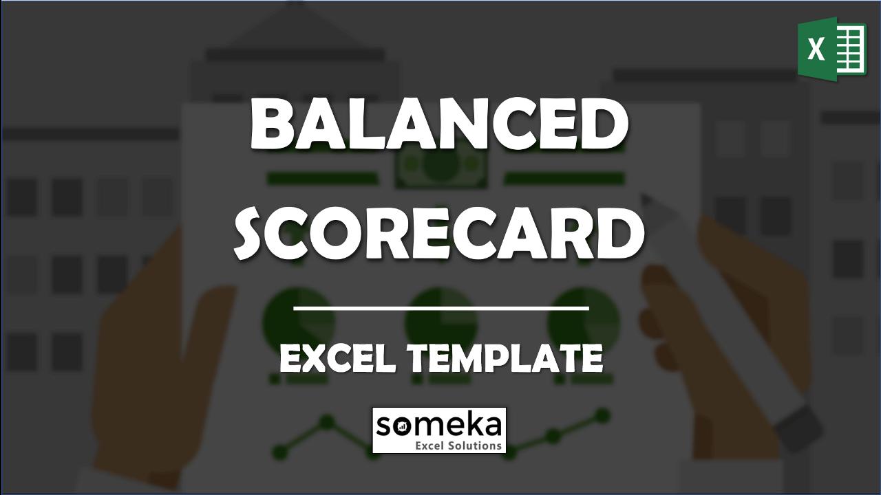 Balanced Scorecard Template - Someka Excel Template Video