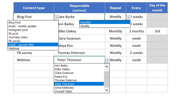Schedule-Standard-Task-Someka-S02