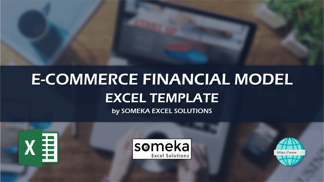 Ecommerce Financial Model - Someka Excel Template Video