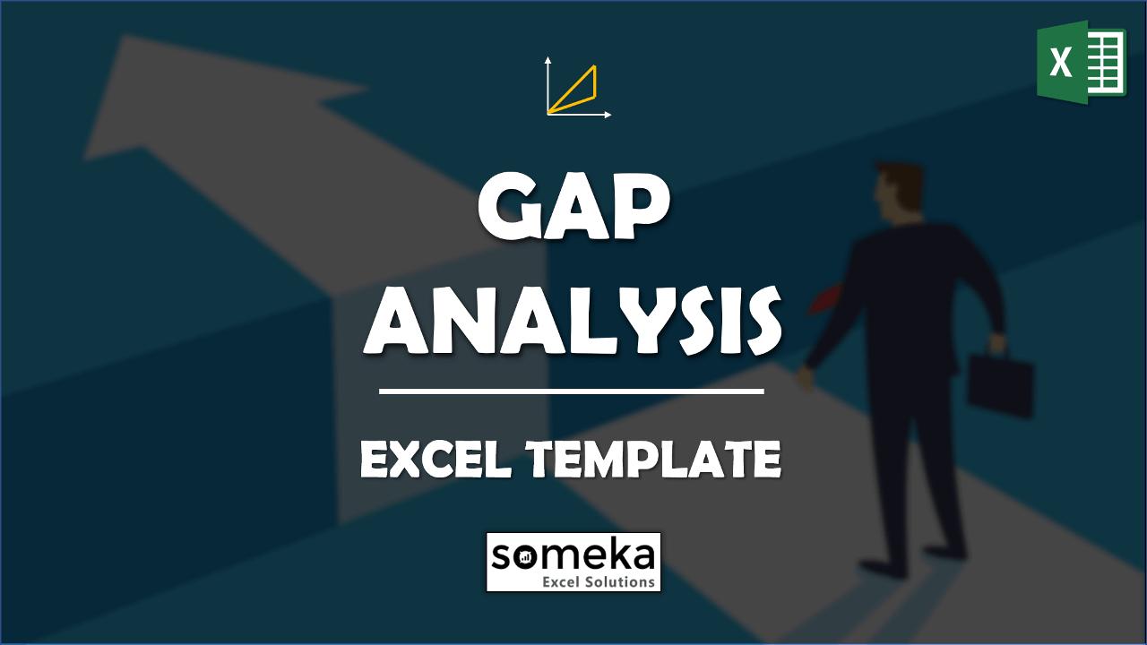 GAP Analysis Template - Someka Excel Template Video