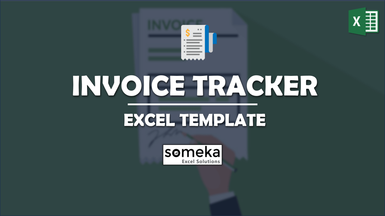 Invoice Tracker Free Excel Invoice Tracking Template