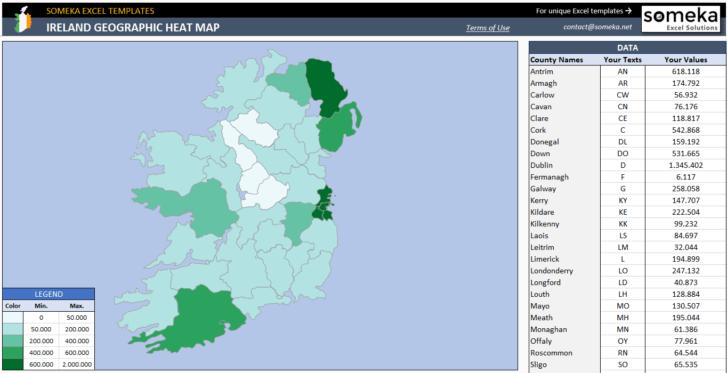 Ireland-Heat-Map-Generator-Someka-SS9