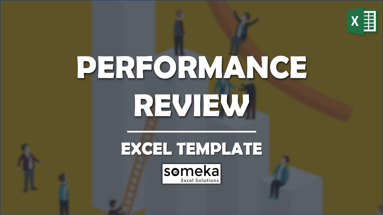 """Performance Review Template - Someka Excel Template Video"""""""