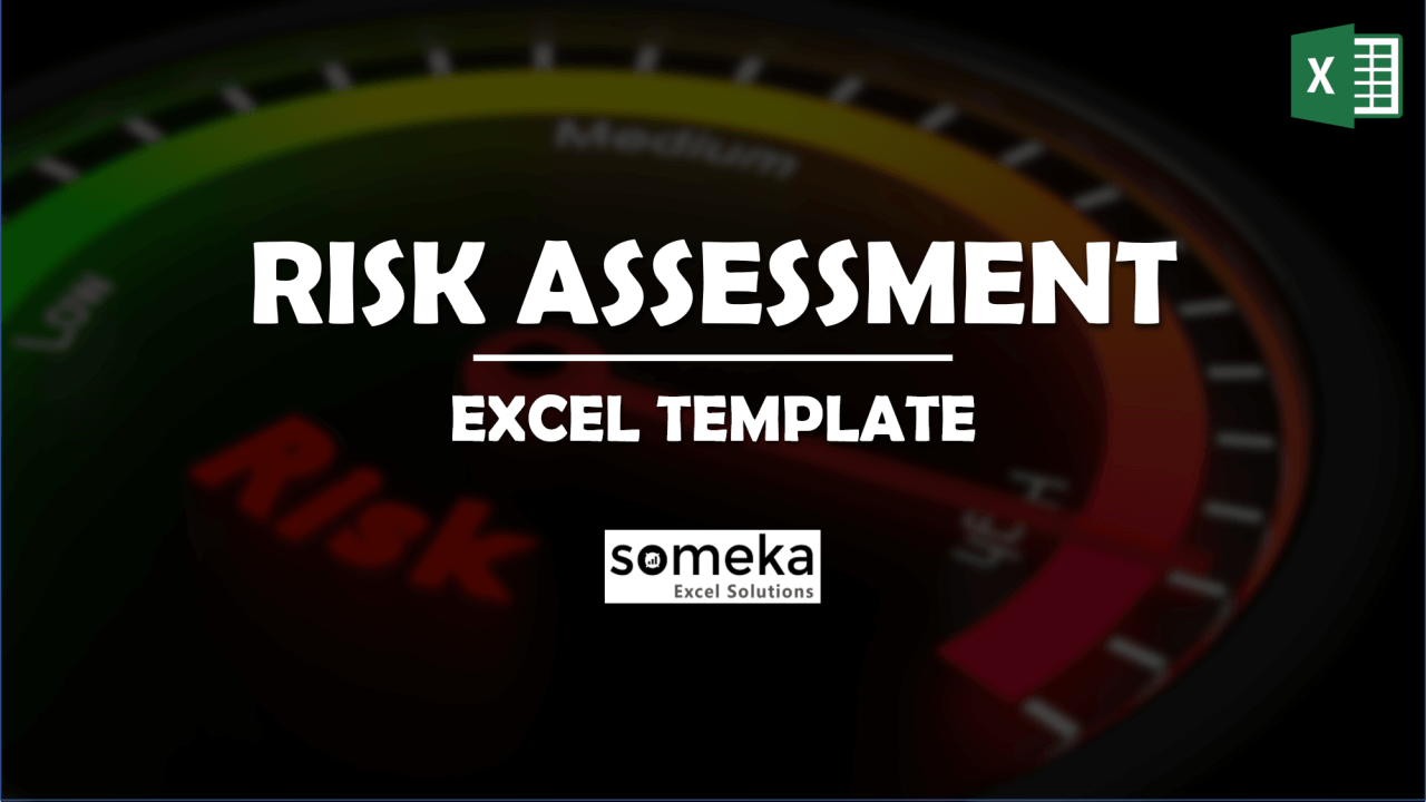 Risk Assessment Template - Someka Excel Template Video