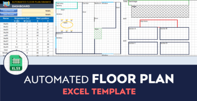 Automated Floor Plan Template