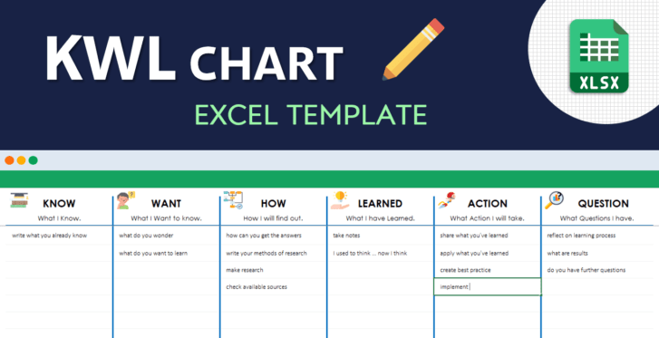KWL-Chart-Excel-Template-Cover