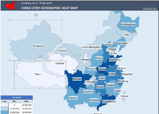 china geographic heat map comment pic1