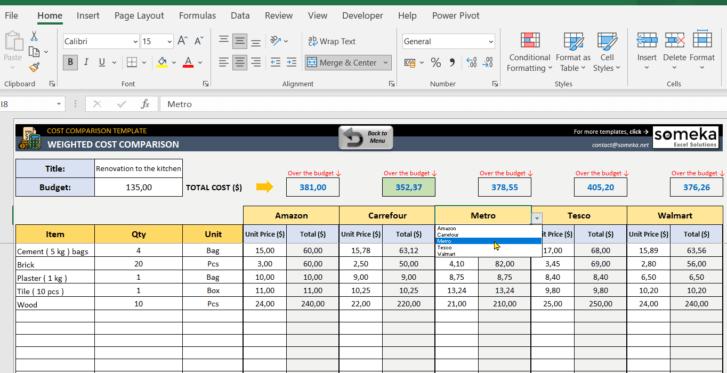 Cost-Comparison-Template-Someka-SS7