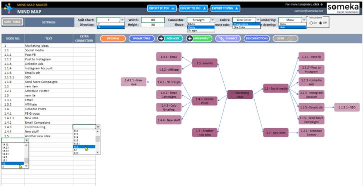 Mind-Map-Maker-Template-Someka-SS4