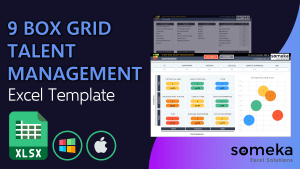 9 Box Grid Talent Management Template - Someka Excel Template Video