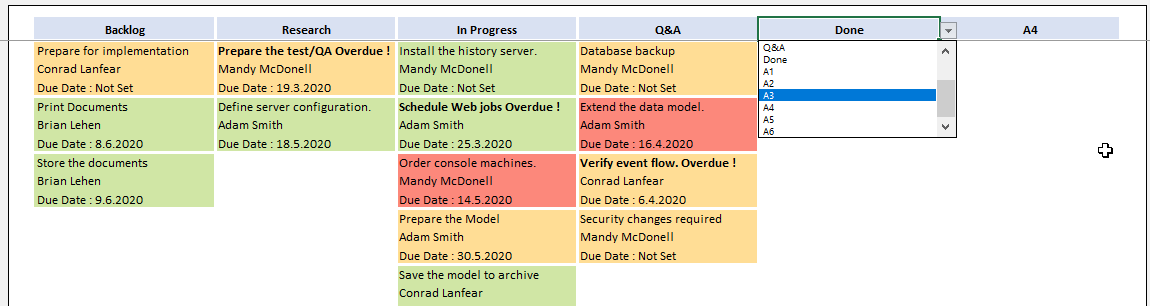 kanban board template comment pic4