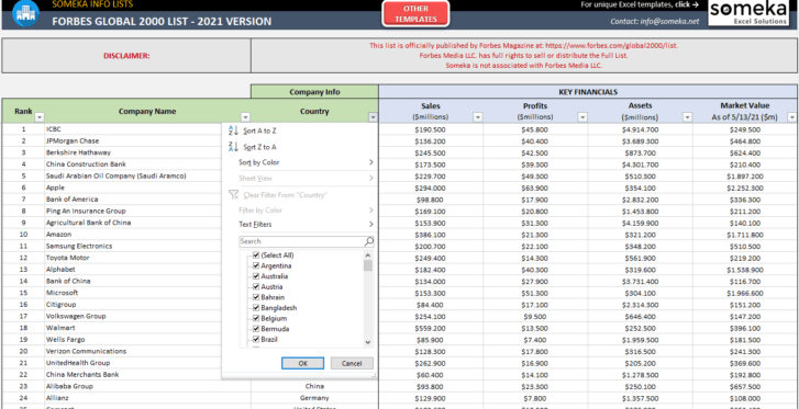 Forbes-Global-2000-List-2021-Excel-Template-Someka-SS2