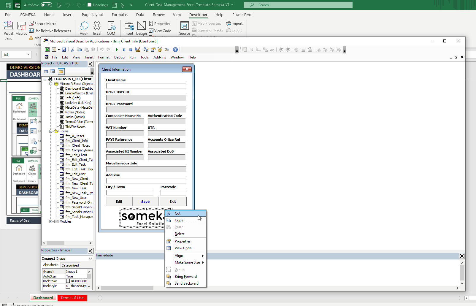 client task manager comment pic1