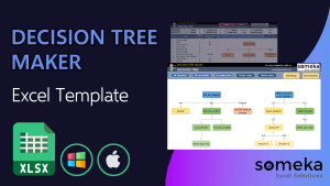 Decision Tree Template - Someka Excel Template Video