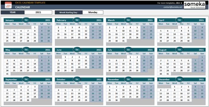 Excel-Calendar-Template-Someka-SS1