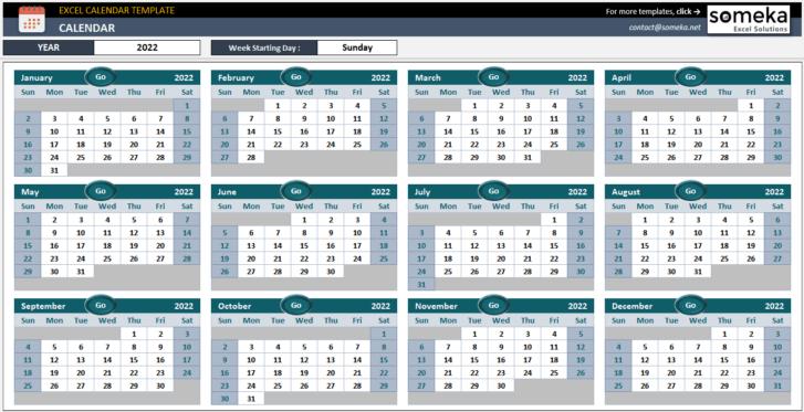 Excel-Calendar-Template-Someka-SS4