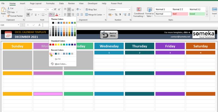 Excel-Calendar-Template-Someka-SS6
