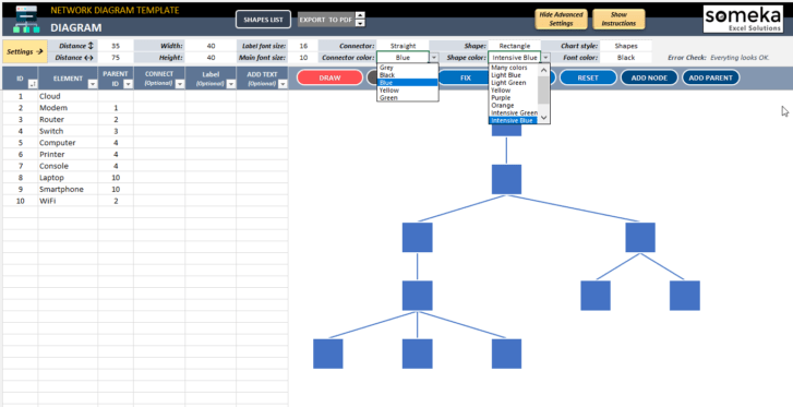 Network-Diagram-Excel-Template-Someka-SS8
