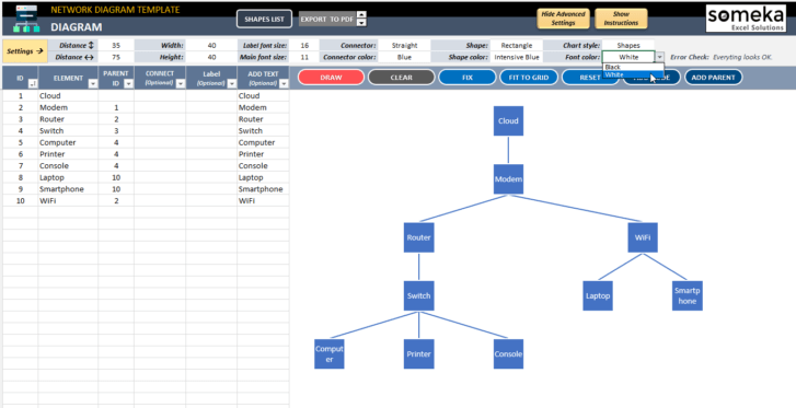 Network-Diagram-Excel-Template-Someka-SS9